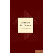Altruism in Humans by C.Daniel Batson