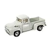 "Motormax GOTZMM73235BG 1:24 Scale Beige ""1956 Ford F-100 Pick up Truck"" Die Cast Model Car"
