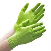 Nitril handschoenen ongepoederd groen