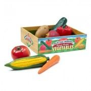 Melissa & Doug 7 Piece Play-Time Veggies Set 4083