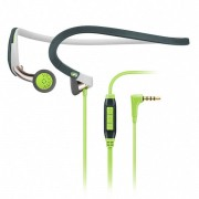 Sennheiser PMX 686G Sports Neckband Earphones Inc In-Line Remote & Mic (Other) - Green/Grey