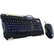 Kit Tastatura si Mouse Tt eSPORTS Commander Gaming Gear Combo (Negru)