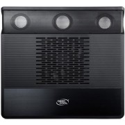 "Cooler Laptop Deepcool M3 15.6"" (Negru), Include 2 Boxe si Subwoofer"