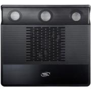 "Cooler Laptop Deepcool M3 15.6"" (Negru), Include 2 Boxe si Subwoofer"