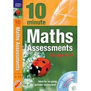 Ten Minute Maths Assessments Ages 9-10 by Andrew Brodie