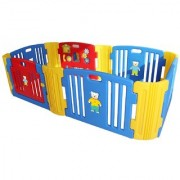 Baby Room Standard with 2 Extension Red - Blue - Yellow