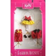 Barbie Kelly Lady Bug Fashion Avenue Clothes 3 Fashions Set (1997) By Mattel