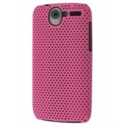 HTC Desire A8183 Mesh Case - HTC Hard Case (Pink)