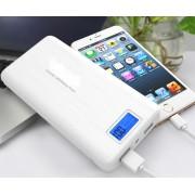 Външна мобилна акумулаторна батерия Power Bank 20000 mah с дисплей