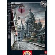 Educa - 15980 - Puzzle Classique - Montmartre, Paris
