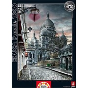 Puzzles Educa - Montmartre París, puzzle de 1000 piezas (15980)