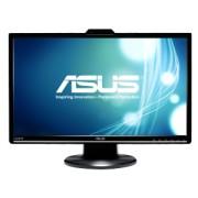 Asus - VK248H - VK248H - 24 inch - LED - 1920 x 1080 pixeli - 16:9 - 250 cd/m² - 50000000:1 - 2 ms - Dimensiune punct 0.28 mm - Unghi vizibilitate 170/160 ° - D-Sub - DVI - HDMI - Kensington lock - Negru