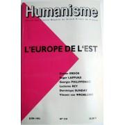 Humanisme - N°210 Juin 1993 L'europe De L'est - Revue Des Francs-Macons Du Grand Orient De France
