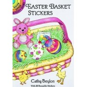 Easter Basket Stickers by Cathy Beylon