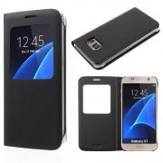 Samsung Galaxy S7 S-View Cover - Zwart