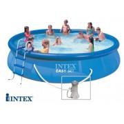 Intex - Басейн 457 х 91см с филтърна помпа