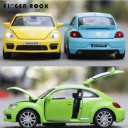 Volkswagen Beetle 1:32 Cars Model Children Simulation Diecast Alloy Toy Metal Cars with Light and Sound Birthday Gift to Boy