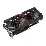 Asus Radeon R9 380 STRIX GAMING DirectCU II PCIe 3,0 5700 MHz Scheda grafica GDDR5, 4 GB