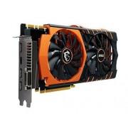 MSI GTX 980 Ti Gaming 6G Golden Edition Carte graphique Nvidia GeForce 1291 MHz 6144 Mo PCI Express