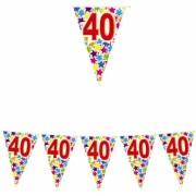 Stegulete pentru petreceri culori asortate 6 m x 25 cm numarul 40 Big Party