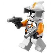Clone Commander Cody - Lego Star Wars Minifigure With Grey Visor And - 2 Grey Blasters