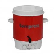 Sterilizator electric emailat, cu temporizator si robinet, Tom Press