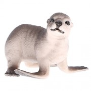 Segolike Realistic Animal Sea Lion Cub Model Figurine Action Figures Playset Kids Educational Toys Collectibles Gift