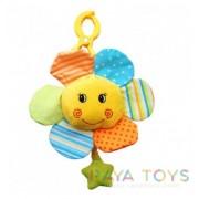 Плюшена играчка за количка цвете Babyono 1295
