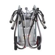 Aparat de muls vaci EMT2+1A40, 1bidon aluminiu 40 litri, 2posturi