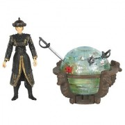 Pirates Of The Carribean 3: Pirate King Elizabeth Swan with Glowing Brethern Court Globe & Sword