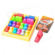 ZhiMing IQ Car Traffic Jam challenges Kids Intelligence Toys - Multicolored
