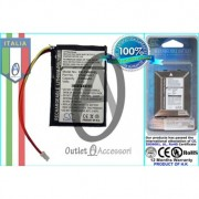 Batteria Originale PER GPS TomTom ONE IQ, V5, 4EK0.001.01