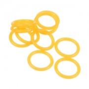 Set 10 inele Bitspower UV Orange din silicon pentru fitinguri G1/4