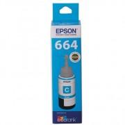 Epson T664 EcoTank Cyan Ink Bottle