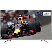 "Hisense 55"" 4k Uhd Led Tv With Freeview Hd 3840 X 2160 Silver 4x Hdmi And"