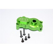 Axial Yeti Upgrade Parts Aluminium Center Transmission Case - 2Pcs Set Green