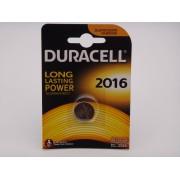 Duracell DL2016 / CR2016 baterie litiu 3V blister 1
