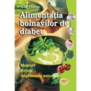 Alimentaţia bolnavilor de diabet.