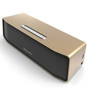 Bluedio BS-2 (Camel) Mini Bluetooth Speakers Portable Wireless Speakers 3D Surround System (Champagne Gold)