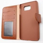 Samsung S6 Flipcover - Vit