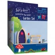The Irish Fairy Door Company 4 Piece Garden Accessory Set