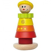 Hape - Early Explorer - Stacking Jill Wooden Ring Toy