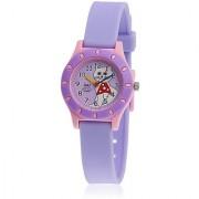 Q&Q Quartz Purple Round Girl Watch 100VQ13-010