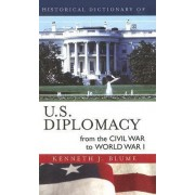 Historical Dictionary of U.S. Diplomacy from the Civil War to World War I by Kenneth J. Blume