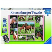 Ravensburger Horse Heaven XXL 100 Piece Childrens Jigsaw Puzzle Horses Ponies by Ravensburger
