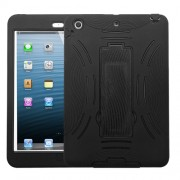 Protector Funda Mixto Ipad Mini Negro c / Pie