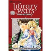 Library Wars: Love & War, Vol. 3 by Kiiro Yumi