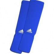 Adidas Elastische Scheenbeschermer - Blauw - XS