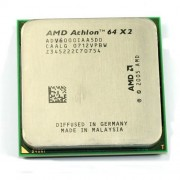 Athlon 64 X2 XCPU AM2 AMD 6000 + 2 x 512 KB (3,1 gHz) 89 W Brisbane Tray