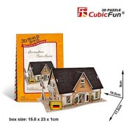CUBIC FUN 3D WORLD STYLE GERMANY FLAVOR BEER HOUSE 6.5 3D PUZZLE 42PCS